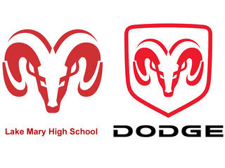 Dodge Ram logo trademark infringement